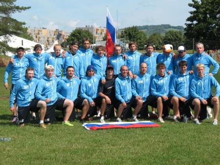 Команда Russia натурнире EUC 2011 (ОД, 6/17)