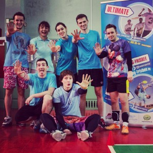 Команда К1 натурнире Капялюш 2015 (Микс дивизион, 5/8)