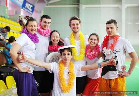 Команда Bambaleila натурнире Капялюш 2015 (Микс дивизион, 1/8)