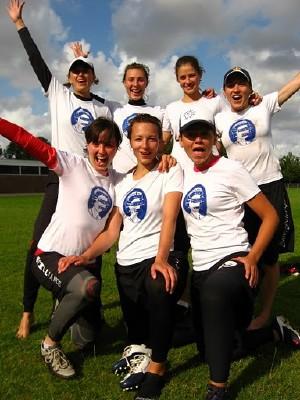 Команда Russia National Team натурнире Windmill Windup 2011 (ЖД, 9/13)