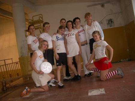 Команда Disoholics натурнире Rigas Rudens 2005 (ЖД, 5/7)