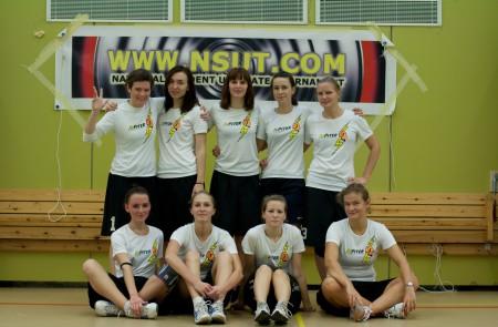 Команда JuPiter натурнире NSUT XXVI 2011 (ЖД, 4/8)