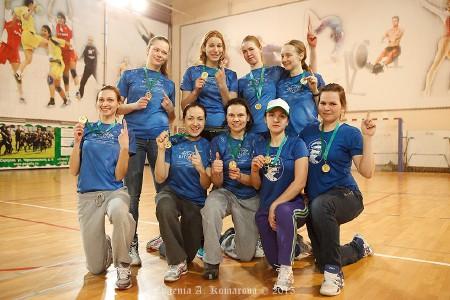 Команда Brilliance натурнире Весеннее обострение 2015 (ЖД, 1/8)