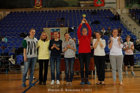 Команда Белки натурнире Весеннее обострение 2015 (ЖД, 7/8)