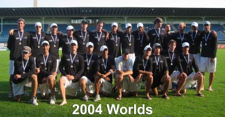 Команда  United States натурнире WUGC 2004 (ОД, 2/18)