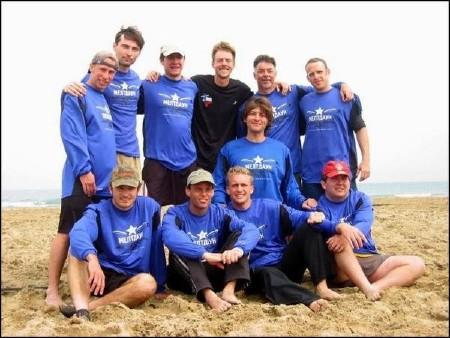 Команда Meltdown натурнире Paganello 2003 (ОД, 36/48)
