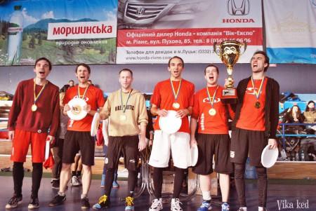 Команда Спинин натурнире ЗЧУ 2013 (ОД, 1/16)