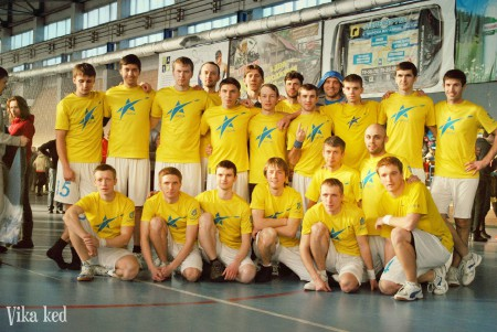 Команда Нова V606 натурнире ЗЧУ 2013 (ОД, 2/16)