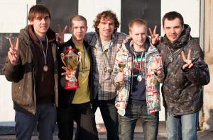 Команда Спинин натурнире ЗЧУ 2011 (ОД, 2/16)