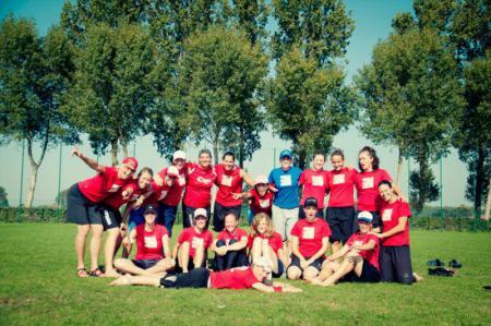 Команда Primavera Olandese натурнире EUCF 2011 (ЖД, 8/10)