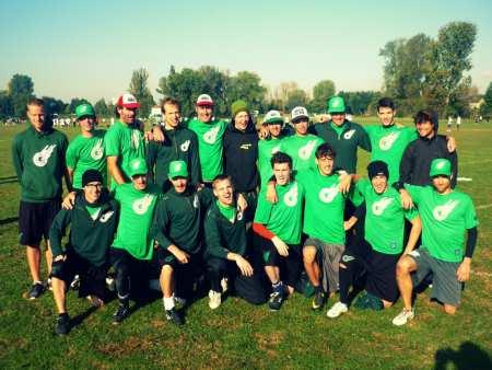Команда Gentle натурнире EUCF 2012 (ОД, 14/24)