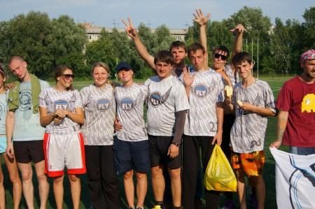 Команда Фри Флай натурнире STUF 2012 (ОД, 5/12)
