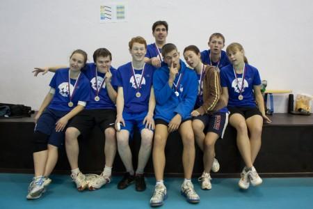Команда Yoshkin Barans натурнире Точка Отсчета 2011 (ОД, 2/16)