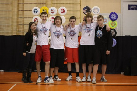 Команда Рокетс на турнире Love Ultimate 2012 (ОД, 3/16)