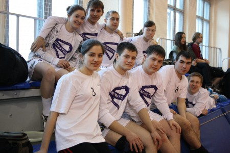 Команда Snowstorm на турнире Love Ultimate 2012 (ОД, 10/16)