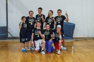 Команда Позитрон натурнире Фактор Ф 2015 (Микс дивизион, 1/10)