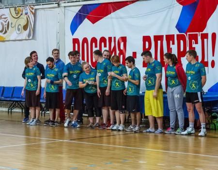 Команда Биозон натурнире Фактор Ф 2015 (Микс дивизион, 2/10)