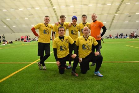 Команда Mariu Meskos натурнире Kick in de Kok 2015 (ОД, 11/24)
