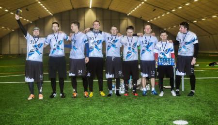 Команда Tallinn Thunder натурнире Kick in de Kok 2015 (ОД, 2/24)