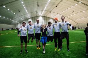 Команда JUngsters натурнире Kick in de Kok 2015 (ОД, 10/24)
