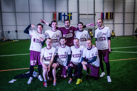 Команда Spinin натурнире Kick in de Kok 2015 (ОД, 14/24)
