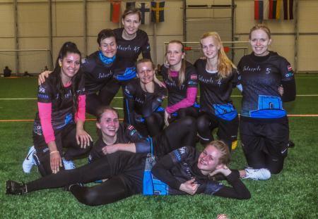 Команда Salaspils FK натурнире Kick in de Kok 2015 (ЖД, 1/14)