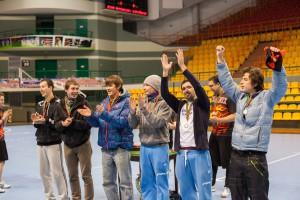 Команда Долгорукие натурнире Winter Brest 2012 (ОД, 4/13)