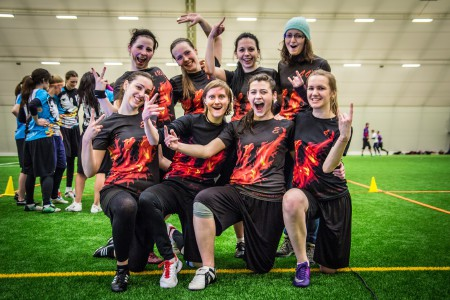 Команда Phoenix натурнире Kick in de Kok 2015 (ЖД, 10/14)