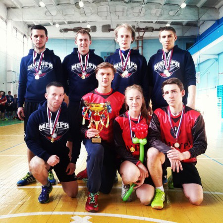 Команда Магура натурнире VI Кубок ВоГУ 2015 (ОД, 1/8)
