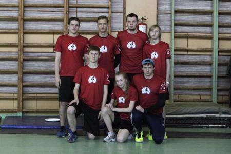 Команда Space jam натурнире VI Кубок ВоГУ 2015 (ОД, 2/8)