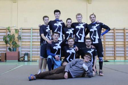 Команда Молоко натурнире VI Кубок ВоГУ 2015 (ОД, 4/8)