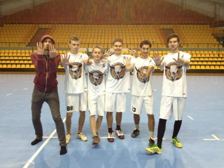 Команда Buffalo натурнире Winter Brest 2012 (ОД, 7/13)