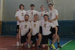 Команда Юпитер 3 натурнире VI Кубок ВоГУ 2015 (ОД, 6/8)