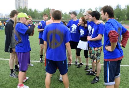 Команда HIPPY END натурнире МФЛД 2012 (2 дивизион, 2/12)