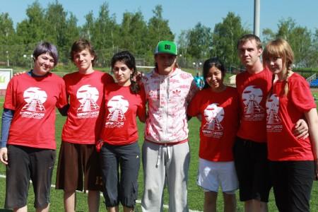 Команда Марсиане натурнире МФЛД 2012 (2 дивизион, 9/12)
