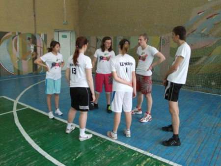 Команда Казань Left натурнире Оттепель 2011 (ОД, 4/5)