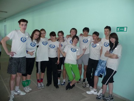 Команда ЙК Уайт натурнире Оттепель 2010 (ОД, 10/10)