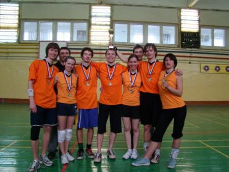 Команда Фреза-1 натурнире Оттепель 2009 (ОД, 2/10)