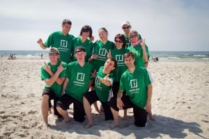 Команда Greens натурнире Sun Beam 2011 (Микс дивизион, 4/5)