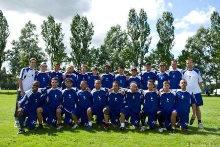 Команда France натурнире EUC 2007 (ОД, 7/16)