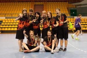 Команда Феникс натурнире Winter Brest 2012 (ЖД, 1/4)