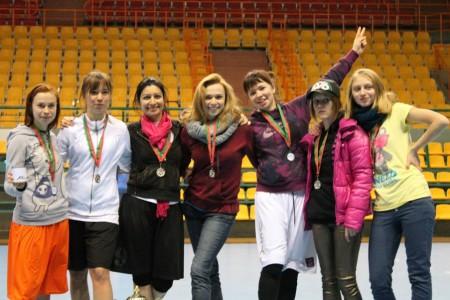 Команда Хай Файв натурнире Winter Brest 2012 (ЖД, 2/4)