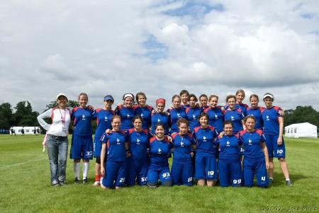 Команда France натурнире EUC 2007 (ЖД, 9/14)