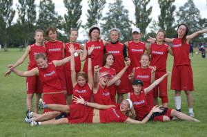 Команда Russia натурнире EUC 2007 (ЖД, 12/14)
