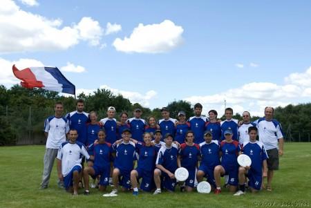 Команда France натурнире EUC 2007 (Микс дивизион, 4/7)