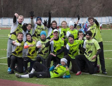 Команда Фреш натурнире МЧР 2015. 1 этап (Микс дивизион, 3/12)
