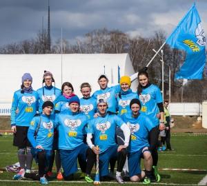 Команда Майс натурнире МЧР 2015. 1 этап (Микс дивизион, 9/12)