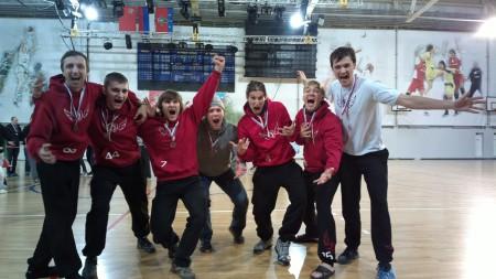 Команда Флаинг Степс натурнире Запуск 2012 (Open-1, 3/14)