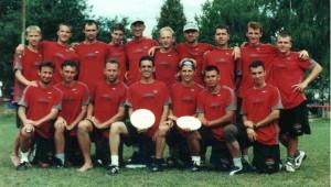 Команда Russia натурнире WUGC 2000 (ОД, 15/19)