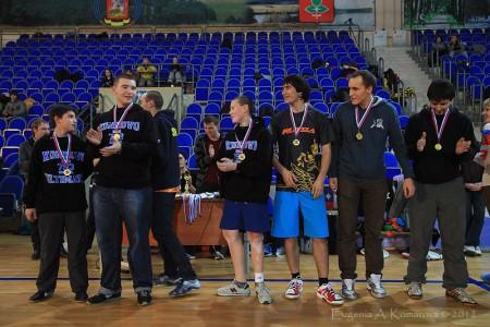Команда Mustangs натурнире Запуск 2012 (Open-2, 1/18)